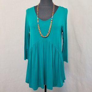 Emory Park Top BOHO Swing Green Size Medium